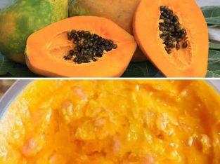 Savon de papaye