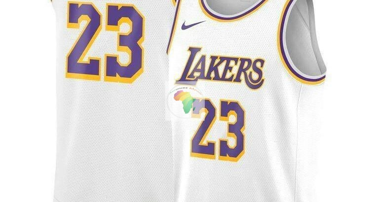 Débardeur Varsity Américain Basket-ball Jersey T-Shirt