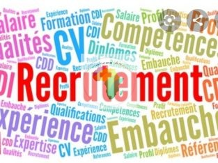 Avis de recrutement Dans le cadre pour la lutte contre la crise économique cause par le Covid19