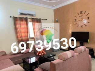 Appart meublé VIP 2chambres salon à 30mill par jour,wifi gratuit,service de nettoyage,sécurité