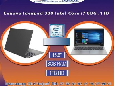 Promo ARTECH Informatique: PC Laptop LENOVO IP330