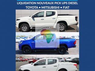 Grande liquidation de Pickups Diesel