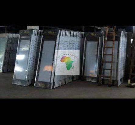 Promo porte toilette alluminium
