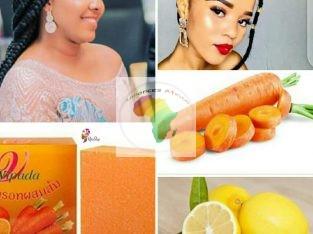 Savon carotte citron Pour un teint sans tache