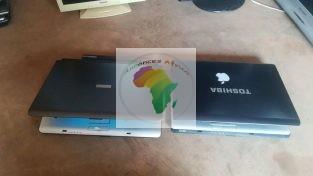 Deux Ordinateurs Toshiba disque dur 120GB et 160GB Batterie 1H30 et 2h30 Ram 2GB