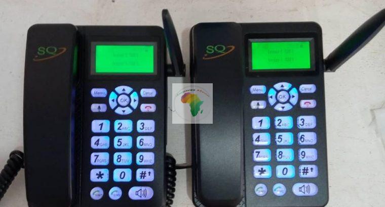 TÉLÉPHONE GSM FIXE SANS FIL SQ LS 830