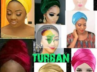 Vos turbans en velours sont disponible