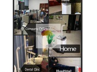 matériel de désinfection et nouveaux appareils