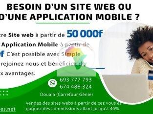 Création de site & apps mobile