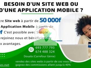 Création application e-commerce
