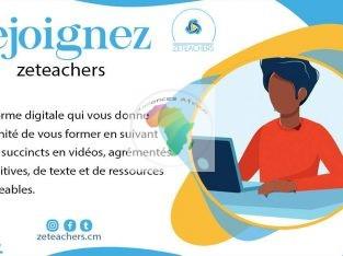 ZETEACHERS Votre plateforme de formation en ligne